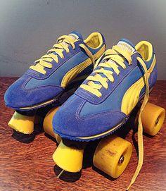 Vintage 70's Swingin' Sneaker Roller Skates   Vintage, I had and ...