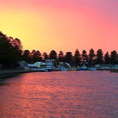 #wharf #sunset #portfairy #boats #iphone6s #greatoceanroad #holidaywithhubby #luckyus #anniebauersmiles by anniebauersmiles http://ift.tt/1UokfWI