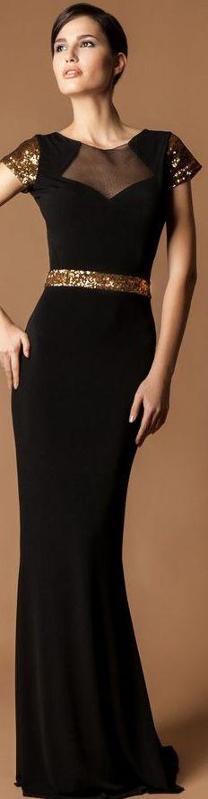 CRISTALLINI #BlackDress #EveningDress #GlamourStyle
