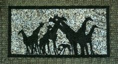 silver linings quilting pattern giraffe colony