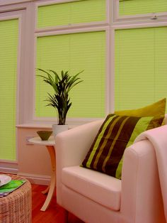 Beautifully and originally designed window in the apartment has tremendous value for the entire interior in general. Choosing the shape, texture and color scheme of curtains is a traditional dilemma, it can be tough to solve. The lime green Venetian blinds may make your room bright and full of color. Correctly chosen curtain color allows you ...