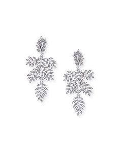 Crystal+Vine+Drop+Clip+Earrings+by+Oscar+de+la+Renta+at+Neiman+Marcus.