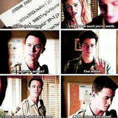 Teen Wolf - Lydia, Parrish, and Stiles