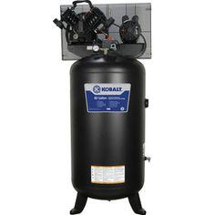 Kobalt 5-HP 80-Gallon 155-PSI 230-Volt Vertical Electric Air Compressor