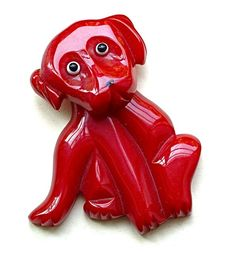 "From the Bakelite Museum... apparently ""Clifford the Big Red dog"" is nothing new!"