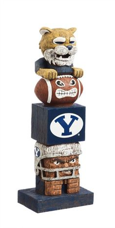 Must have product now available: Preorder - Brigha... Get it here! http://www.757sc.com/products/preorder-brigham-young-byu-cougars-16-tiki-totem-figure-statue-ships-in-late-june?utm_campaign=social_autopilot&utm_source=pin&utm_medium=pin