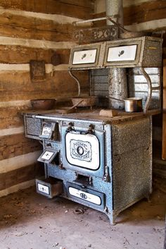 another shot of the wood stove...