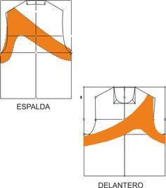 Curso de patrones base y moda: Varios patrones de blusas