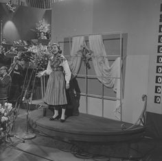 Eurovision Song Contest 1958 - Alice Babs. Beat Generation, Rap Songs, Jazz Musicians, Everything Is Awesome, Sweden, 10 Points, Star, Pop, Random