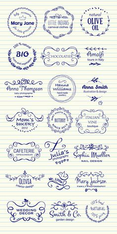 HI there,I would like to present my new Hand Sketched Floral Designer's Vector…