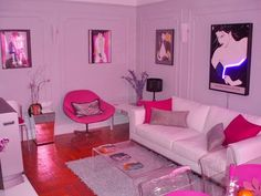 80's bedroom - pink, Nagel