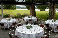 Wedding decor in the Pavillion at Edgewater Resort Wanaka, New Zealand http://www.edgewater.co.nz/resort/weddings/