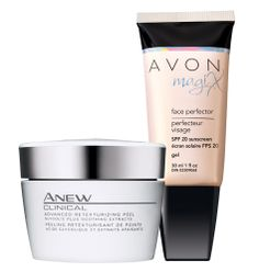 Avon: ANEW CLINICAL Advanced Retexturizing Peel & MagiX Face Perfector Duo