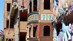 Pirates Village-Hotel Gran Santa Ponça, Mallorca, by Marga de la Llana Art #seedas #leaves #nature #inspiring #MargadelaLlana #sculptress #Watercolors #smallformat #bigformat  #Ironfish #sculpture #uniquepieces by #MargadelaLlana #Artist #theater #cinema #TV #audiovisual #Leatherfish #museumpieces