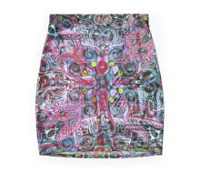 Paisley Splash Pencil Skirt