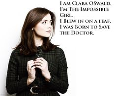 Image result for clara oswald i was born to save the doctor
