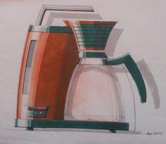 Coffeemachine for Design Visualisation Delft University of Technology