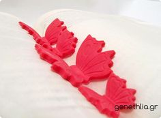 How to make easy SugarPaste Butterflies. Store and use when you need