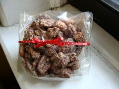 candied nuts—an easy homemade gift - In Jennie's Kitchen