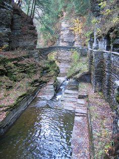 Upper Treman Falls, Ithaca NY
