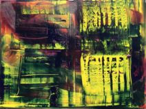Abstract oil painting - RM 808 - 16