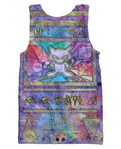 Ancient Mew Pokemon Tank Top by RageOnOfficial on Etsy