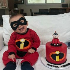 Cute Kids, Cute Babies, Baby Kids, Cute Baby Pictures, Newborn Pictures, Baby Outfits Newborn, Baby Boy Outfits, Incredibles Birthday Party, Cute Baby Costumes