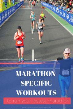 Marathon Specific Workouts