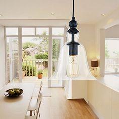 Modern Vintage Chandelier Big Bell Pendant Ceiling Hanging Shabby Chic Light in Home, Furniture & DIY, Lighting, Ceiling Lights & Chandeliers   eBay