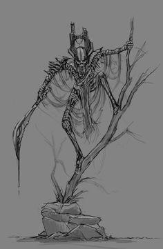 Aztec Mummy by Dylan Pierpont - Character Design, Digital Art, Game Design