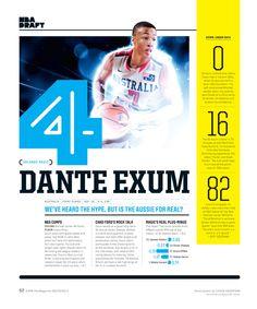 ESPN Magazine - 2014 NBA Draft                                                                                                                                                                                 More