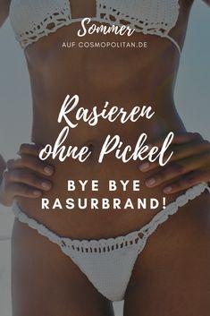 Nie mehr Rasurbrand: Intimrasur ohne Pickel #body #summer #bikinizone