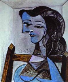 Pablo Picasso - Nusch Eluard. 1938