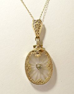 St patrick medal silvers products and sw 14k camphor glass pendant 14k yellow gold necklace heart pendant edwardian antique aloadofball Images
