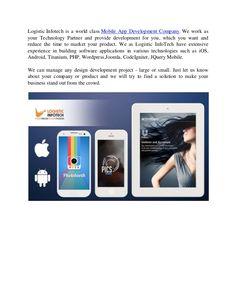 Best Mobile App Development Services by Logistic Infotech via slideshare