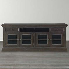 """92"""" Credenza, also comes in a grey washed finish"""