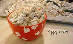 Original Puppy Chow. An amazing #Christmas treat! The hubby is requesting this :) haven't made it in years