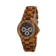 Men's Northwest zebrawood   Men's Northwest   Men's watches   TENSE Wooden Watches