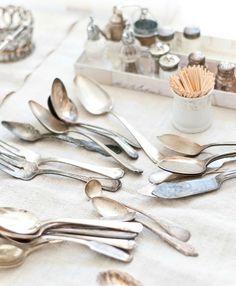 tarnished silverware