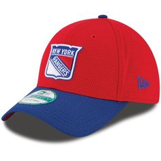 be42bc4b0f9 Men s New York Rangers New Era Red Fundamental Tech 2 9FORTY Adjustable Hat