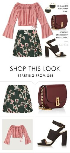 """""""Floral Printed Skirt 1764"""" by boxthoughts ❤ liked on Polyvore featuring Marni, Marc Jacobs, Abercrombie & Fitch, Topshop and Trina Turk"""