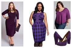 Purple is a good color for Spring 2012.  For those of us who don't look good in Tangerine (the other 99%, LOL!).