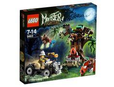 Jeu de construction LEGO Monster Fighters 9463 - Le Loup-Garou