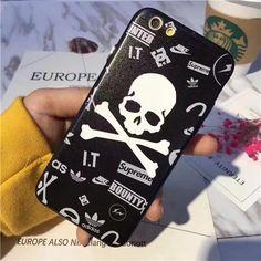 iphone8 ケース マスターマインド ストリート 髑髏デザインのiphoneX/Editionケース クール インパクト強くなスカルデザインのmastermind アイフォン8/7s/7splus/7/6s カバー イケメン