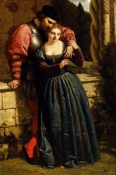 Frederick Richard Pickersgill (1820-1900) - The Betrothal
