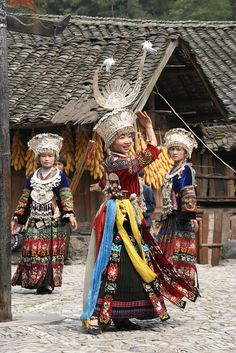 #China Langde - Miao ceremony by jadis1958, via Flickr     -   http://vacationtravelogue.com  Guaranteed Best price and availability  on Hotels