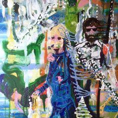 Bringing family past into the present for a family Christmas portrait.  #bothendsofmadness  a #plasticpropaganda fine art exhibition in #folkestone Sassoon gallery 4-21 July.  #painting #studio #enamel #resin #fineart #photography #whitewall_lab #plasticpropaganda #jezgiddings #contemporaryart #inspired #freedom @plasticpropagandain #lost #nowayoutagain #art #fineart #symmetry #christmas #family #myfamilyandotheranimals #ancestors #sophiegiddings #jillcarolgiddings #spectres #nostalgia…
