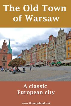 The Old Town of Warsaw Poland is a wonderful place top stroll around. Plenty of cafe bars and restaurants whilst you soak up the vibe of the rich history. old town Poland Culture, Visit Poland, Poland Travel, Warsaw Poland, Weekend Breaks, Krakow, Ultimate Travel, Where To Go, Wonderful Places