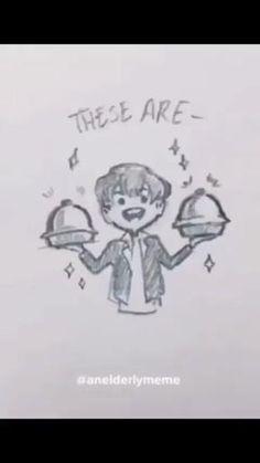 #BTS #army #jin Bts Memes Hilarious, Bts Funny Videos, Bts Jin, Bts Taehyung, Jimin, Bts Bulletproof, Bts Drawings, Bts Playlist, Bts Chibi