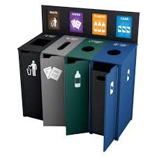 Image result for custom recycle bins